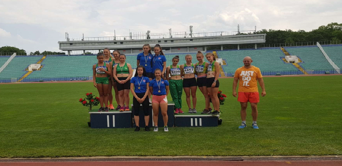 """С бронзови медали останаха атлетите на """"Добруджа"""" до 18 години"""