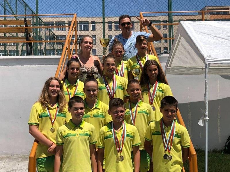 """С 19 медала се завърнаха плувците на СКЛА """"Добруджа"""" от Държавно първенство в Благоевград"""