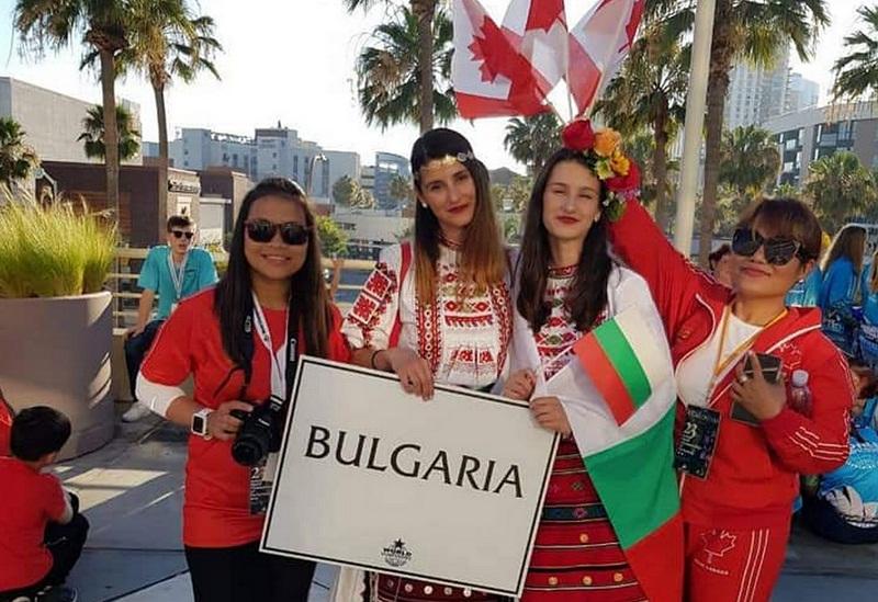 Димитрина Германова представя България на Световния шампионат на сценичните изкуства в Холивуд