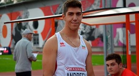 С пето място в Европа и нов рекорд на България приключи Валентин Андреев