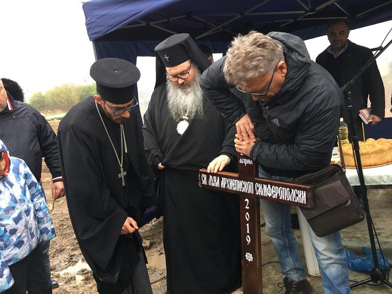 """Започва изграждането на най-високия храм в Добрич """"Св. Лука Кримски"""""""