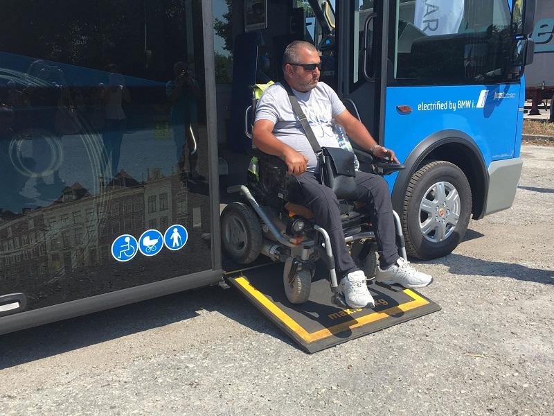 Община Добрич кандидатства с проект за закупуване на електробуси с инвалидна рампа