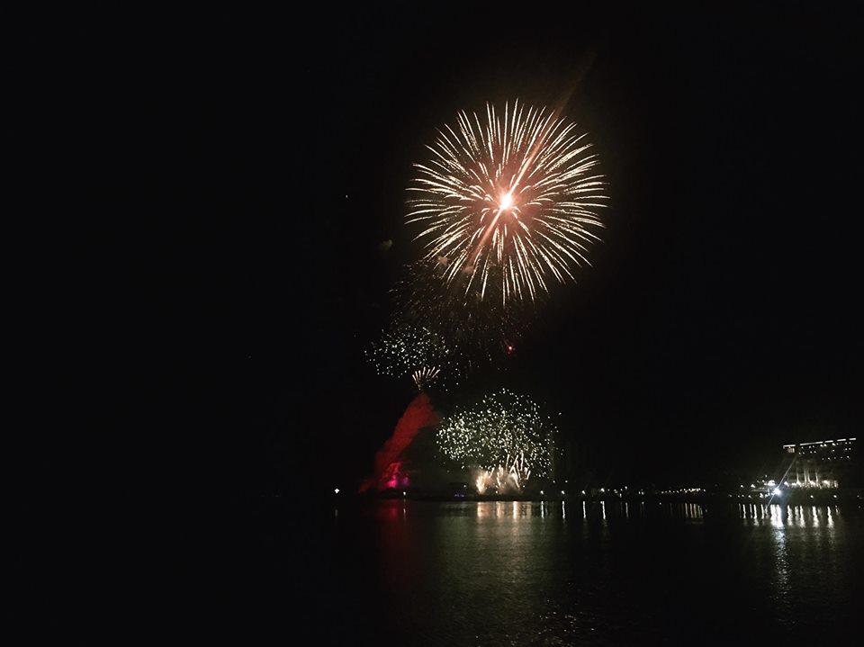 "Зрелищни фойерверки озариха нощното небе над Каварна в Огнена фиеста ""Чиракман"""