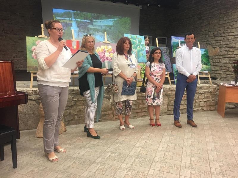 Представиха изложба на художници от няколко държави, вдъхновили се от красотата на Двореца в Балчик