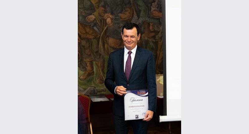 Община Балчик с награда за популяризиране на туризма в България