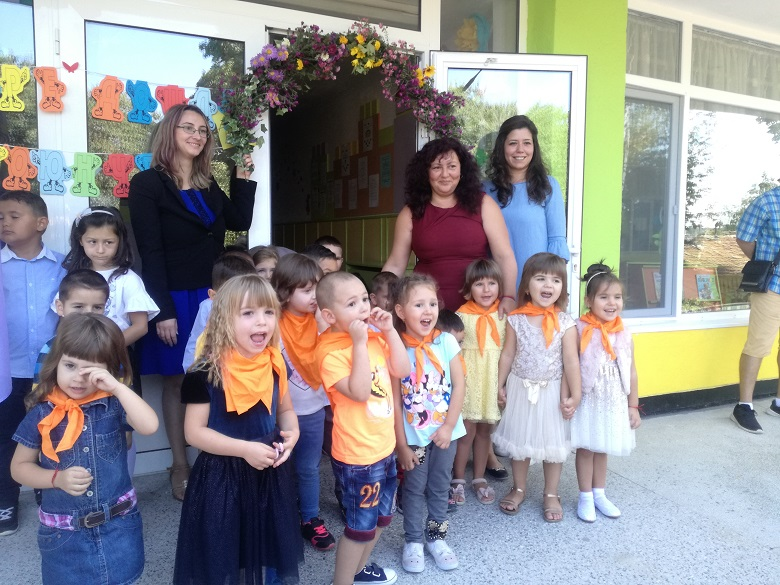 """С настроение 150 деца започнаха новата учебна година в ДГ """"Първи юни"""" №17"""