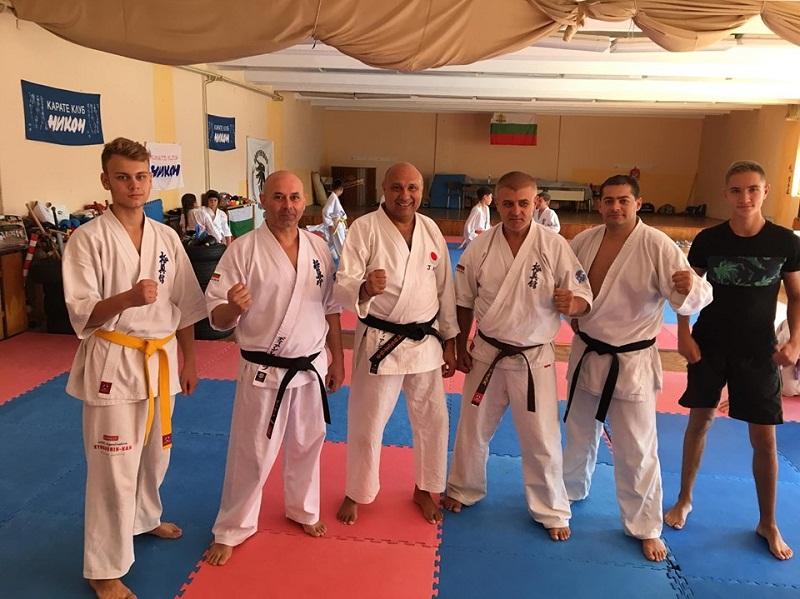 Шихан Явор Дянков проведе семинар по приложно карате с млади спортни таланти от Добрич