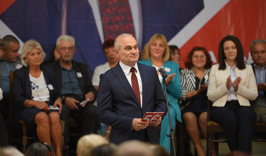 Добруджанци станаха на крака при представянето на Георги Петков за кмет на Добрич