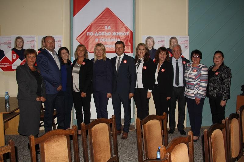 Професионалисти и млади хора в листата на БСП за Община Добричка