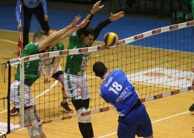 Волейболистите не успяха да се противопоставят на шампионите