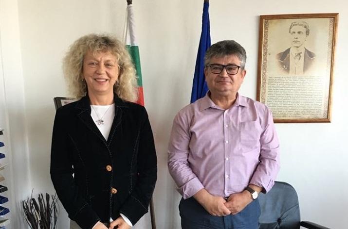 Приключи работното посещение на германския съдия в Балчик