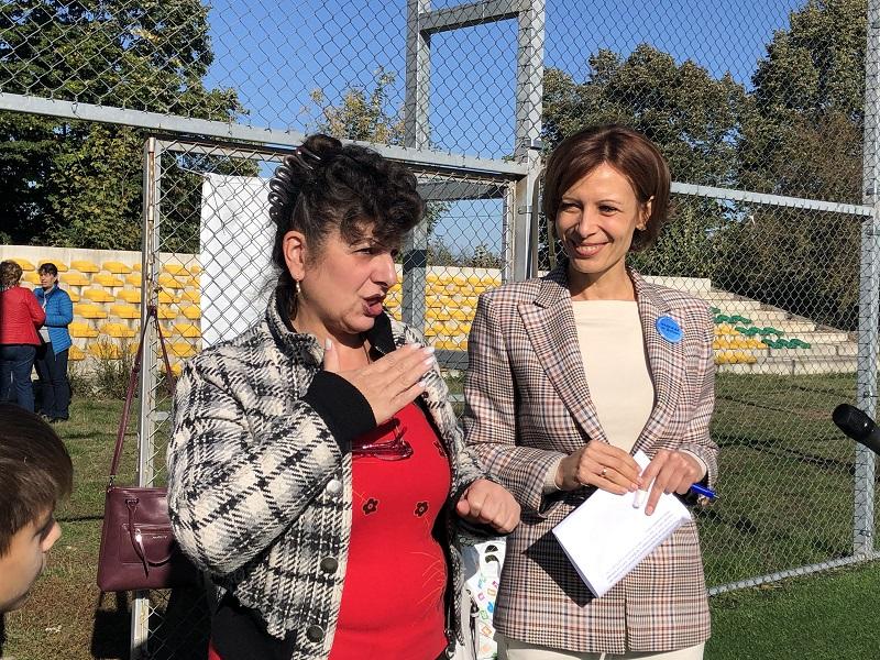 Надежда Петкова откри Ежегодния турнир по футбол за глухи за Североизточна България