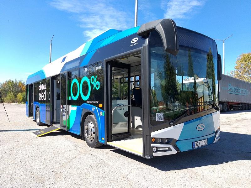 Представиха електрическия автобус Solaris Urbino в Добрич