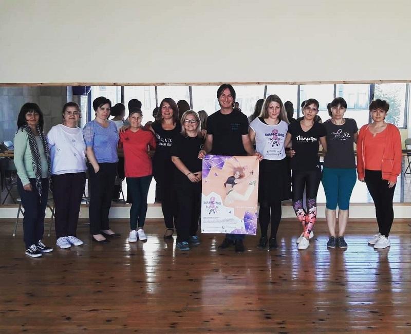 20 жени с рак на гърдата посещават безплатна танцова терапия в Добрич