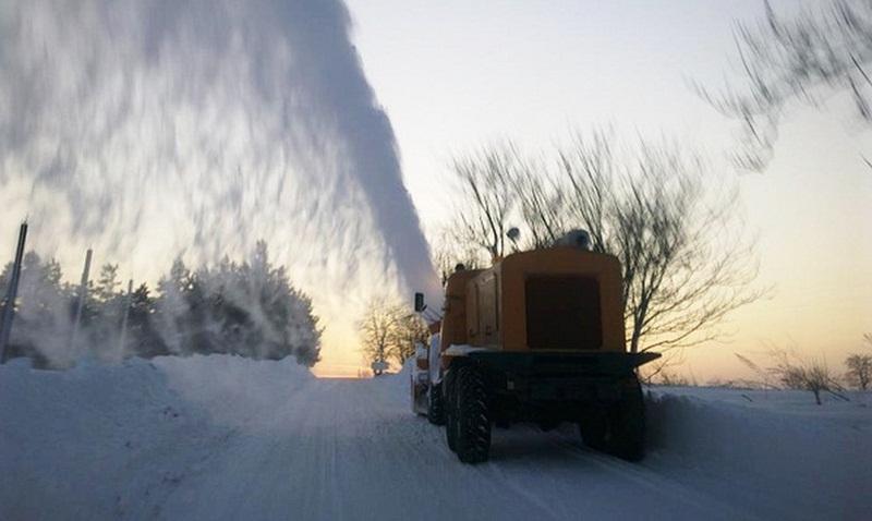 Във всички общини в областта е установено добро състояние на машините за снегопочистване и опесъчаване