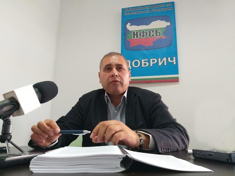 Йордан Апостолов: Добрич е с капиталови разходи от 636 хил. лева, което е изключително малко като процент и като средства
