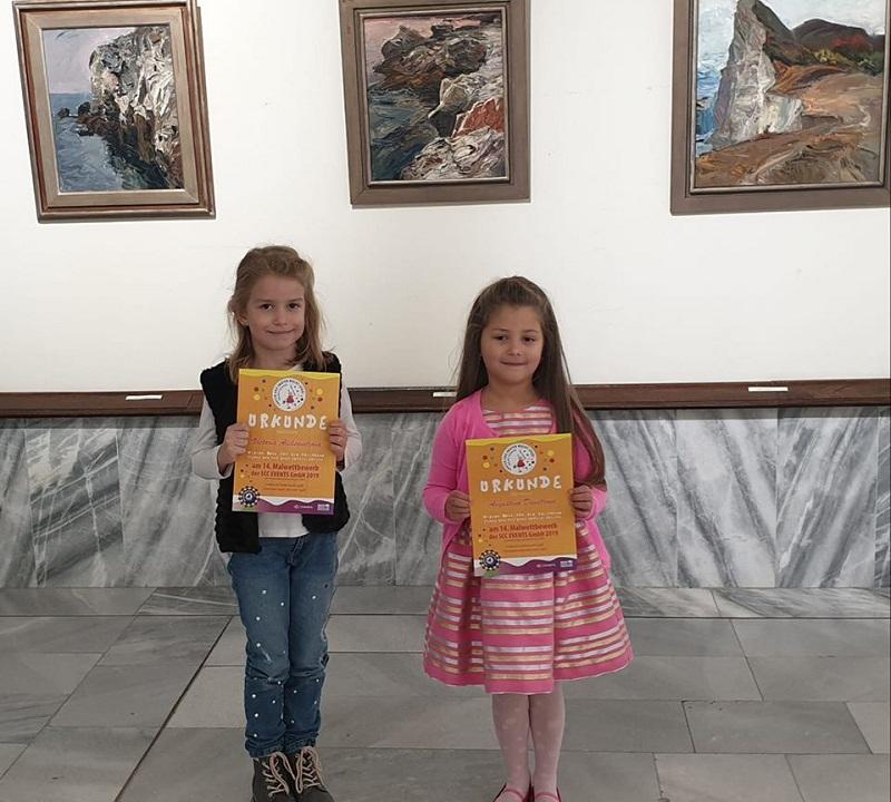 Малки художници от Добрич участваха с творбите си в Международна изложба в Германия