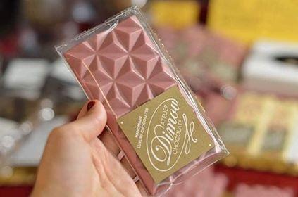 Розов шоколад от рубинени какаови зърна представят на фермерския пазар утре
