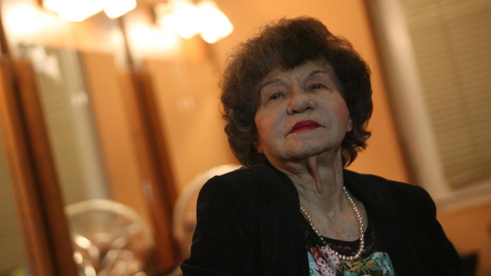 Почина легендата на българския театър Стоянка Мутафова