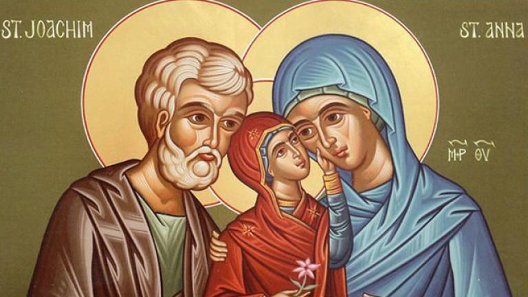 Почитаме св. Анна - покровителка на брака, семейството и майчинството