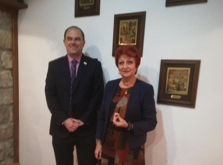 Дипломат от Посолството на Обединеното кралство в София посети Добрич