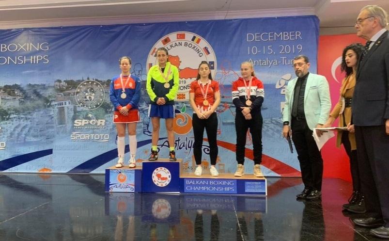 Балканска шампионка по бокс стана Златислава Чуканова