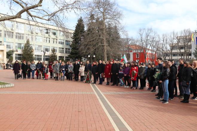 Генерал Тошево отбеляза тържествено националния празник Трети март