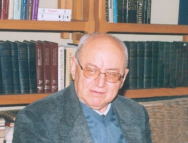 Отиде си литературният историк проф. дфн Иван Сарандев