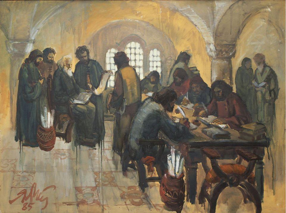 Творби на добричкия художник Янко Атанасов подредиха в Художествената галерия