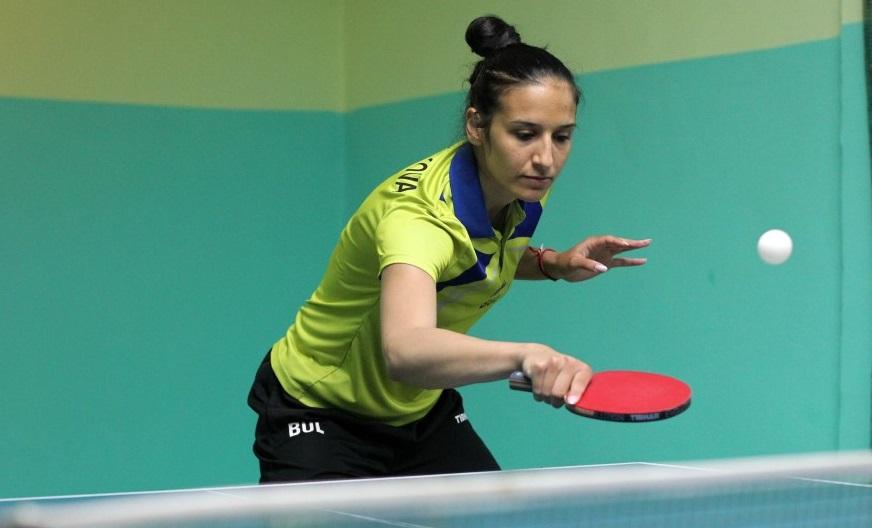 Национали тестваха условията в обновената зала по тенис на маса