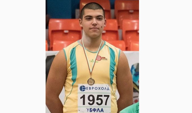 """Деветокласник от СУ """"П. Р. Славейков"""" ще участва на Балканиадата по лека атлетика"""