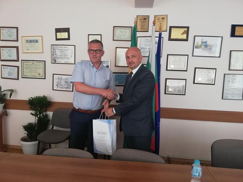 Посланикът на Сърбия беше на опознавателна визита в Добрич