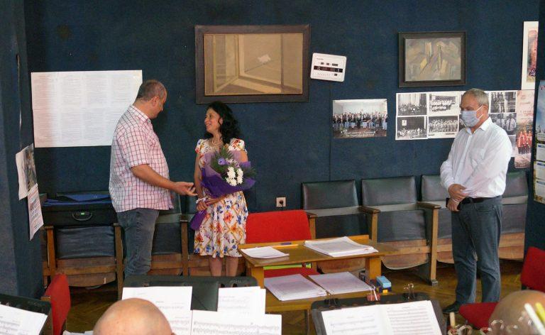 Д-р Росица Бояджиева от Добрич ще ръководи творческата дейност на Духовия оркестър към Община Търговище