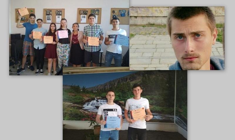 """Ученици от ЕГ """"Гео Милев"""" с достойно представяне на олимпиада по Информационни технологии"""
