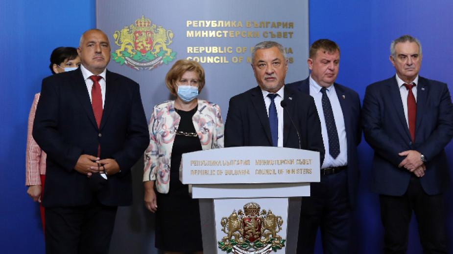 Борисов и Симеонов: Ще продължим до завършването на мандата