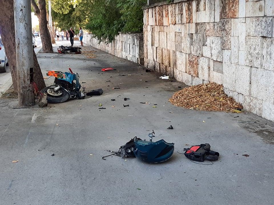 26-годишен мотоциклетист пострада при катастрофа в Добрич