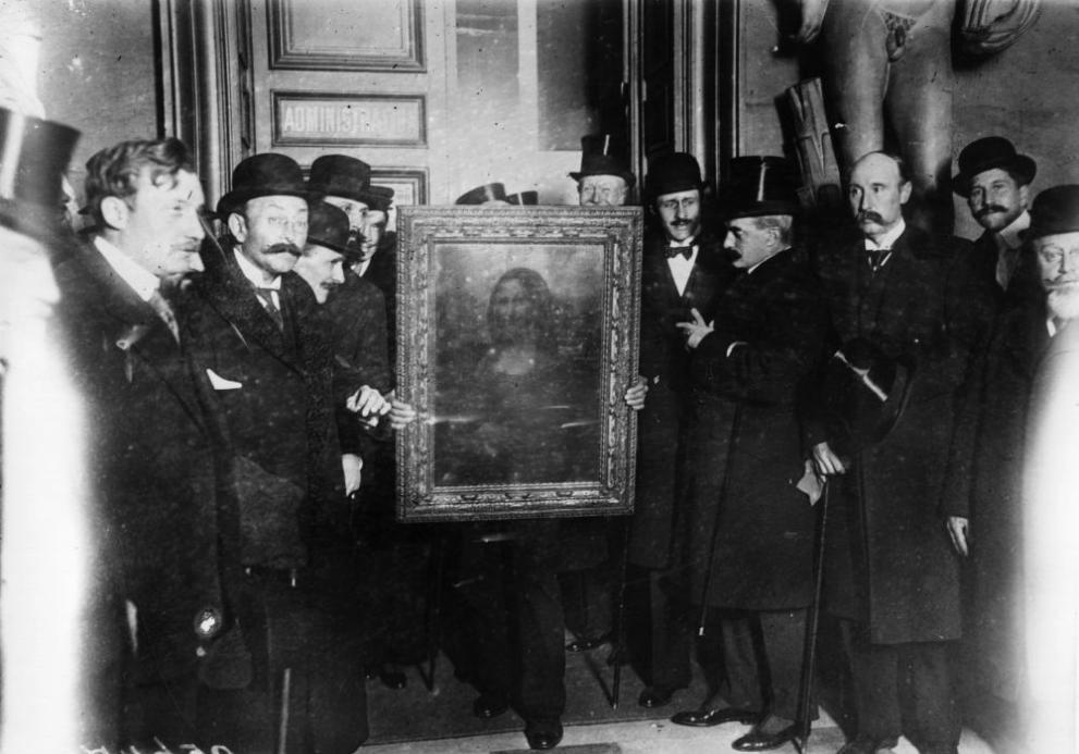 """Преди 109 години служител на Лувъра отмъква прочутата """"Мона Лиза"""""""