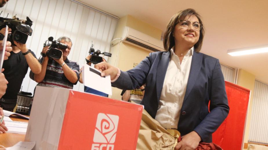 Корнелия Нинова печели изборите за председател на БСП