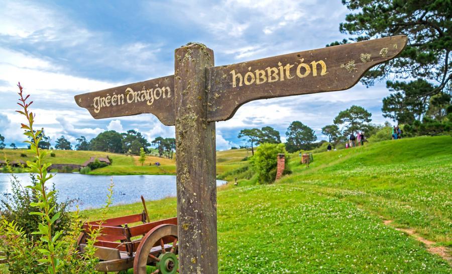 """През 1937 година за първи път е публикувана книгата на Джон Толкин """"Хобит"""""""