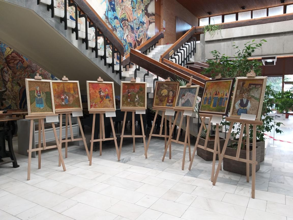 Картини, вдъхновени от разкази на Йордан Йовков, представят в Дом-паметника в Добрич