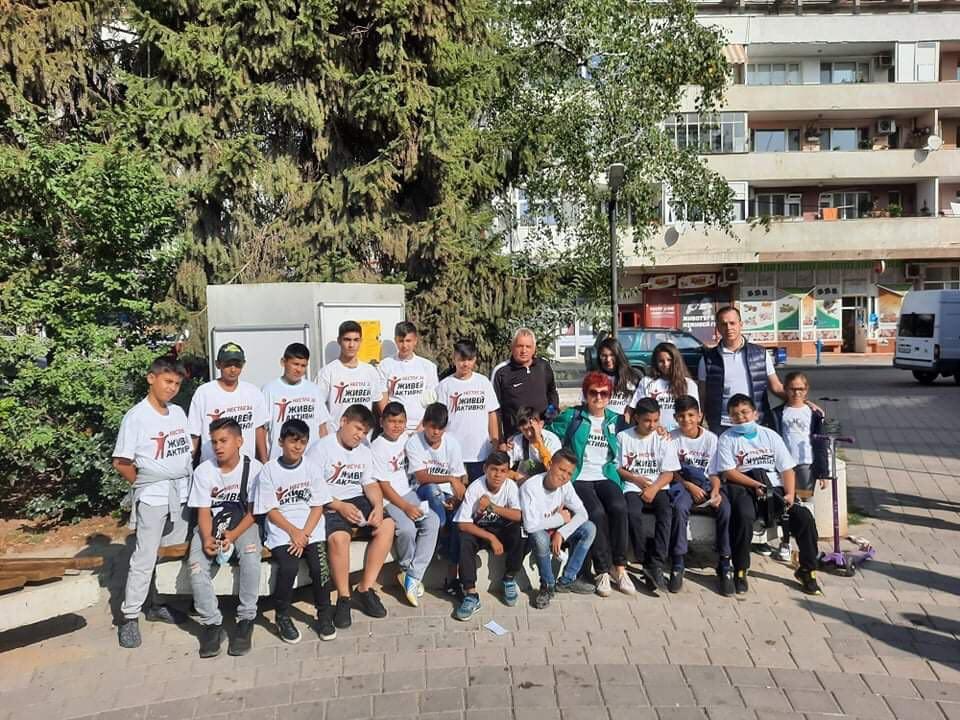 """Активни граждани се включват в инициативата """"Нестле за Живей Активно! 2020"""" в Добрич"""
