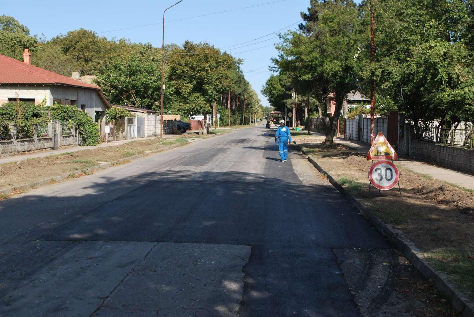 Започна частична рехабилитация на улици в Генерал Тошево