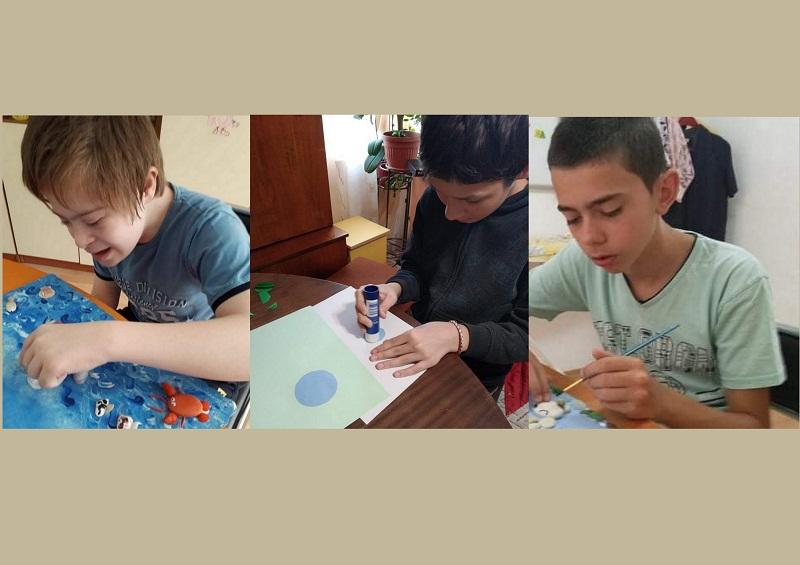 """Талантливи деца от ДЦДУ """"Надежда"""" в Добрич спечелиха награди от Национален конкурс"""