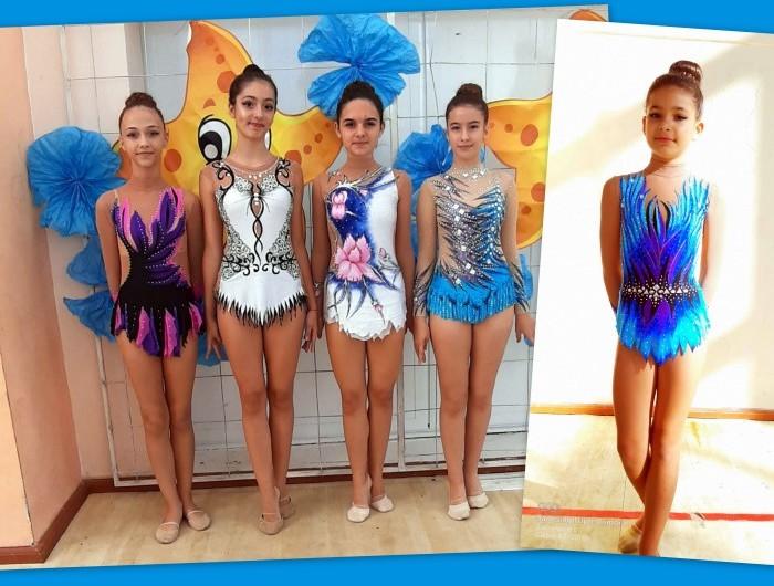 """С шест медала се завърнаха гимнастичките на Генерал Тошево от турнира """"Морски звезди"""" във Варна"""