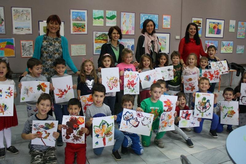 Работилницата за въображение в Художествената галерия очаква деца и ученици за есенно творчество