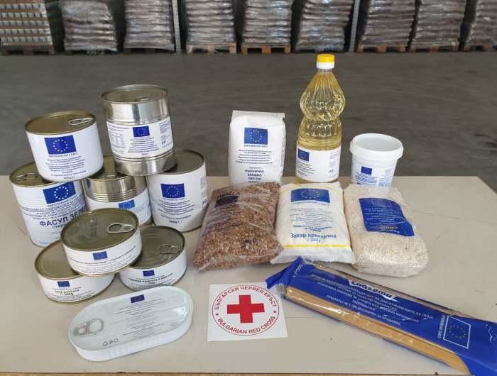 Започна раздаването на хранителни продукти от Българския Червен кръст в община Генерал Тошево