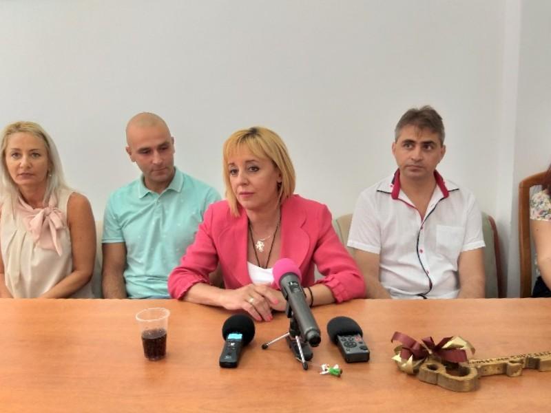 Мая Манолова ще посети Добрич утре