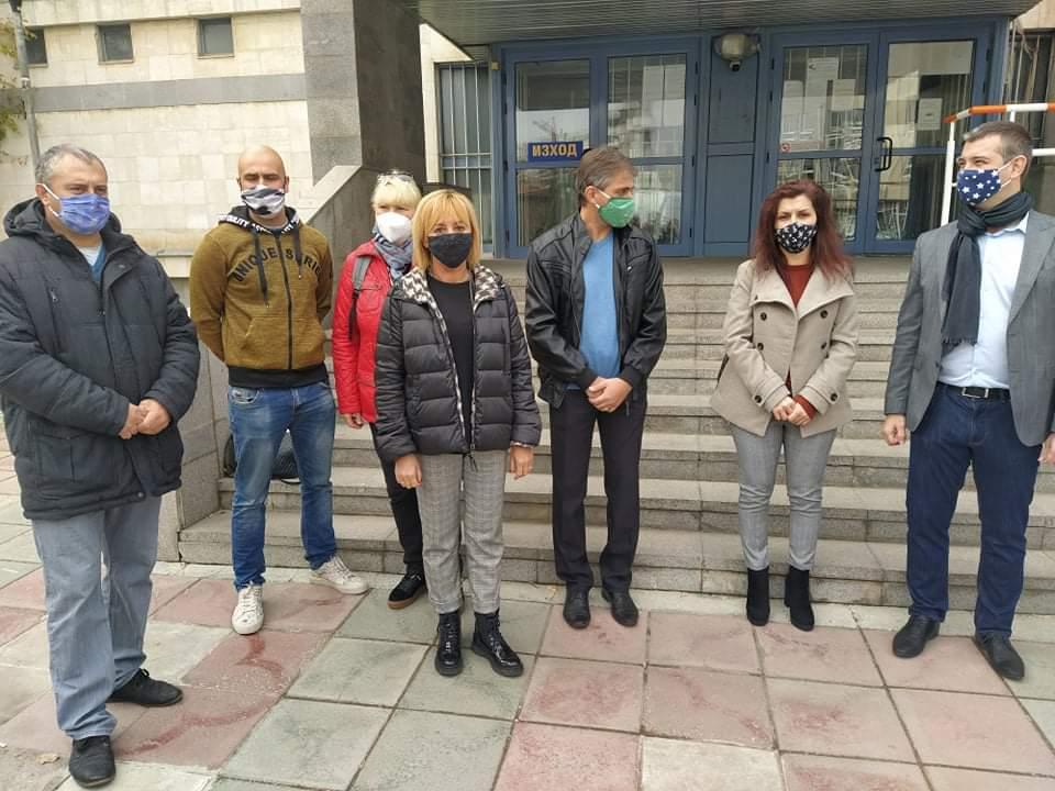 Мая Манолова в Добрич: Депутатите, отменили детските надбавки, да подават оставки!