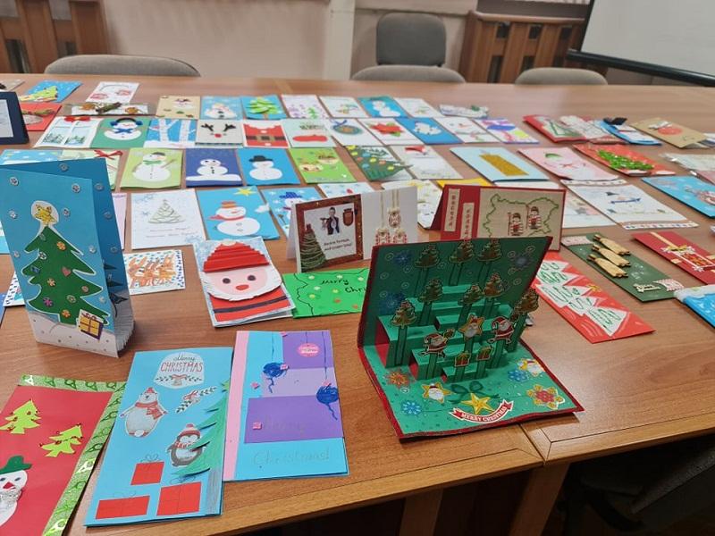 257 деца са се включили в тазгодишния конкурс за коледна картичка