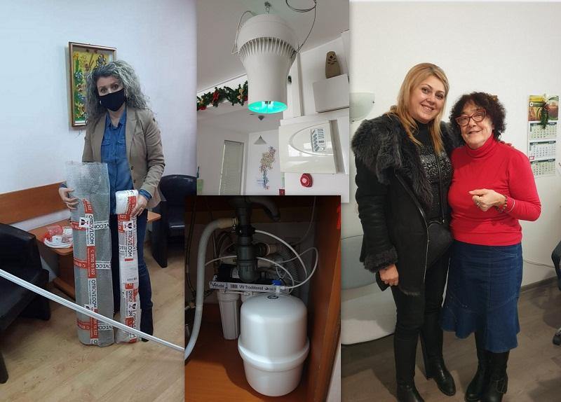 Дамите от Инър Уийл – Добрич с поредно дарение за хора в неравностойно положение